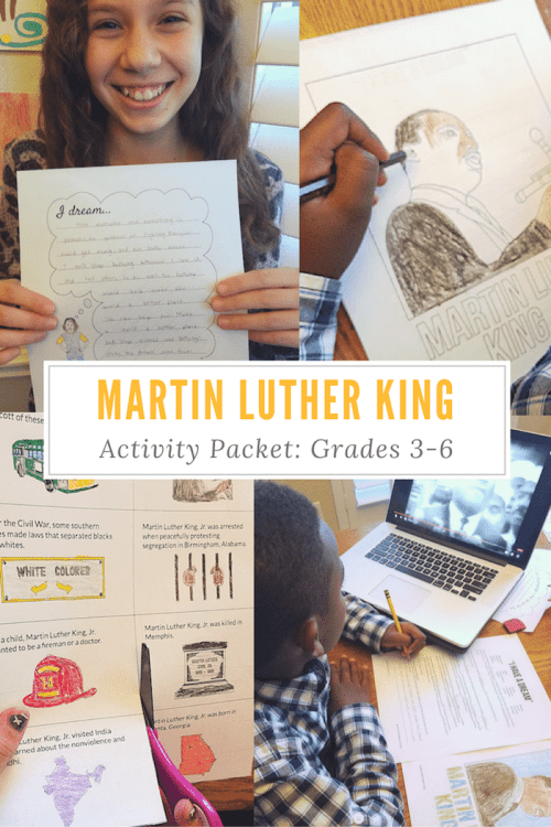 Martin Luther King Lessons for Kids- Kid World Citizen