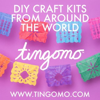 Tingomo Craft Kits Papel Picado- Kid World Citizen