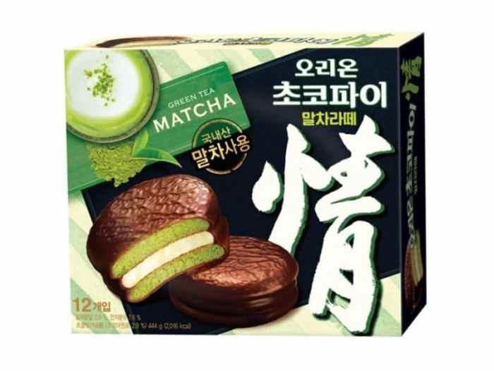 Orion Choco Pie Matcha