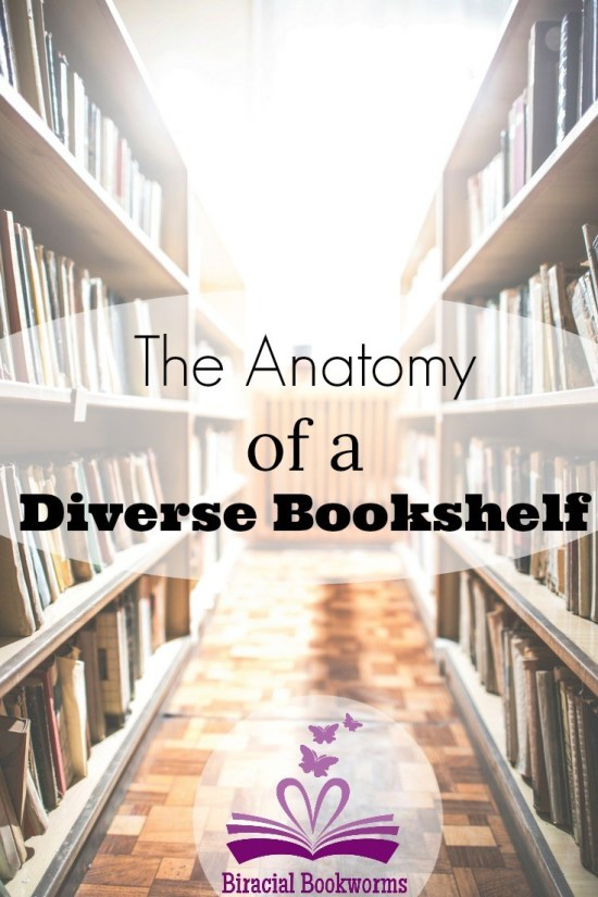 Anatomy Diverse Bookshelf Biracial Bookworm- Kid World Citizen