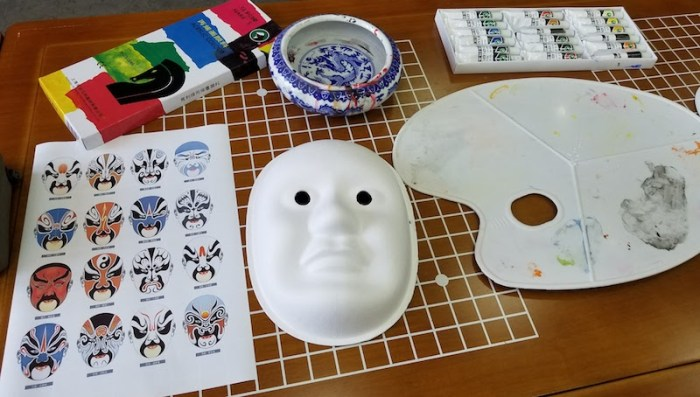 Chinese Masks Supplies- Kid World Citizen