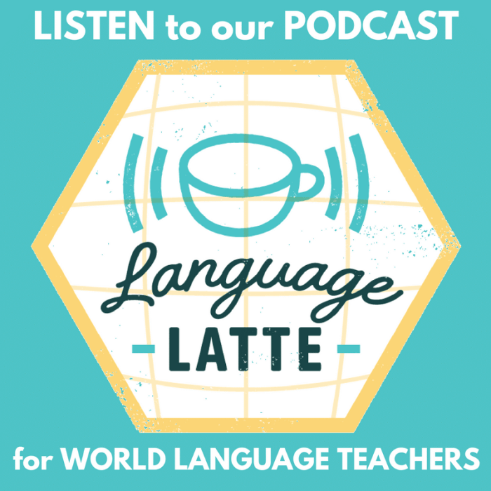 LISTEN to our PODCAST button Language Latte- Kid World Citizen