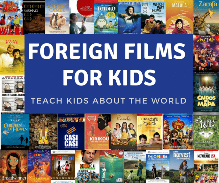 Best movies for Kids- Foreign Films for Kids- Kid World Citizen