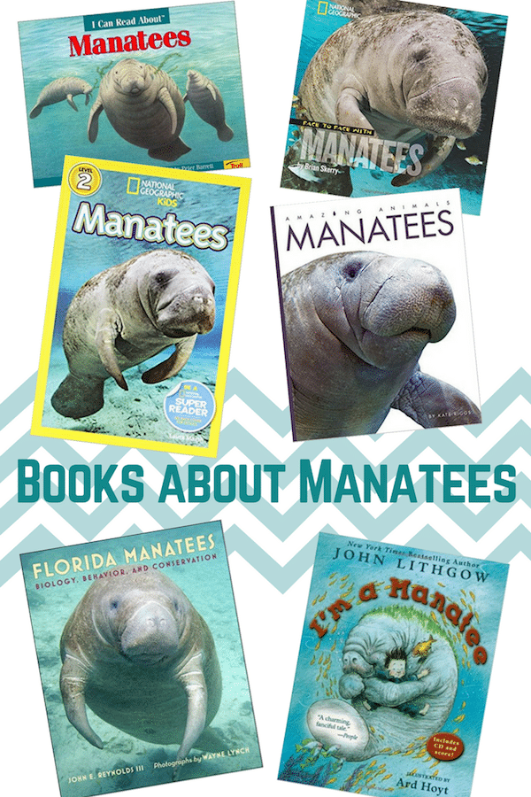 Books about Manatees for Kids- Kid World Citizen