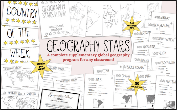 Geography Stars Schools- Kid World Citizen