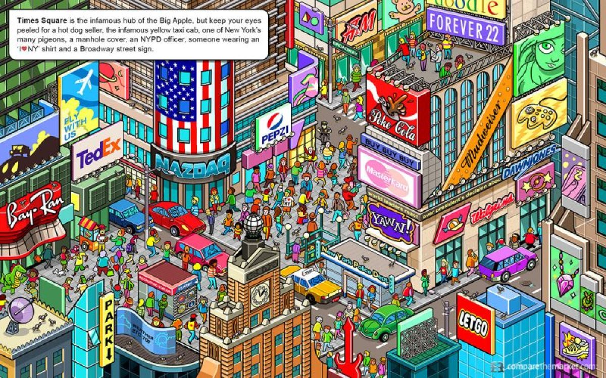 New York Search and Find- Kid World Citizen