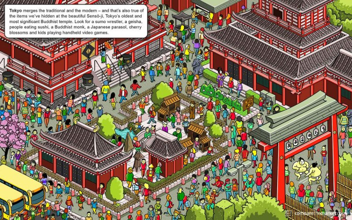 Tokyo Search and Find- Kid World Citizen