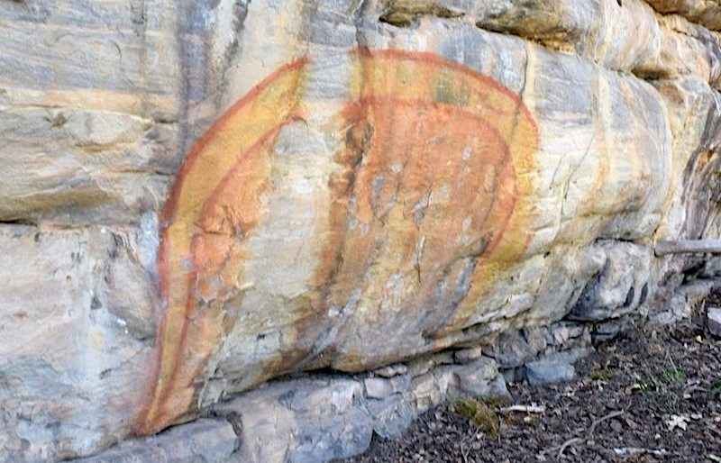 Aboriginal Rock Art Nourlangie- Kid World Citizen