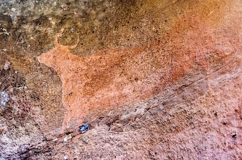 Pinares del Rodeno Cave Paintings- Kid World Citizen