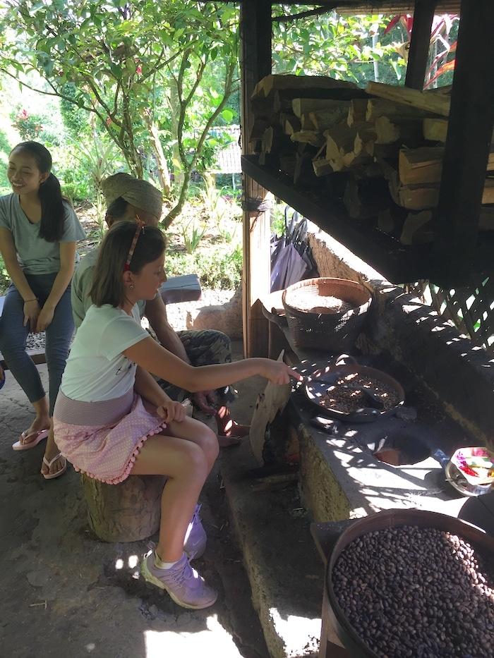 Travel Bali with Kids Coffee- Kid World Citizen