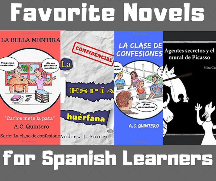 Favorite Novels for Spanish Learners- Kid World Citizen