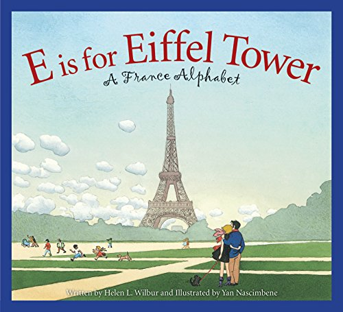 Eiffel Tower Book- Kid World Citizen