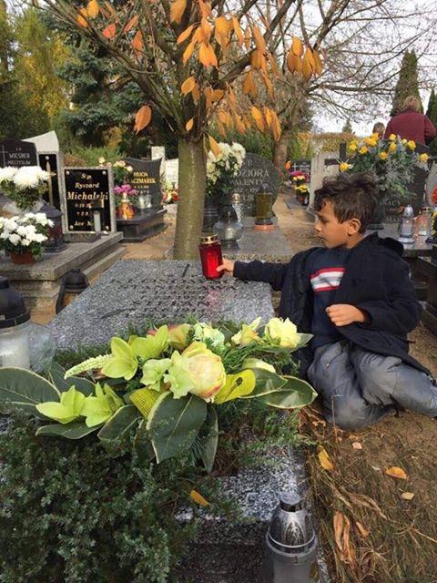 Child All Saints' Day in Poland- Kid World CItizen