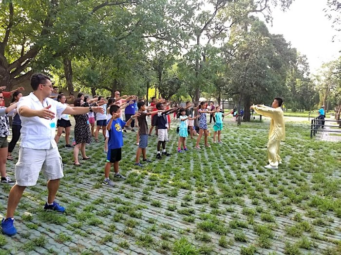Tai Chi Beijing with Kids- Kid World Citizen