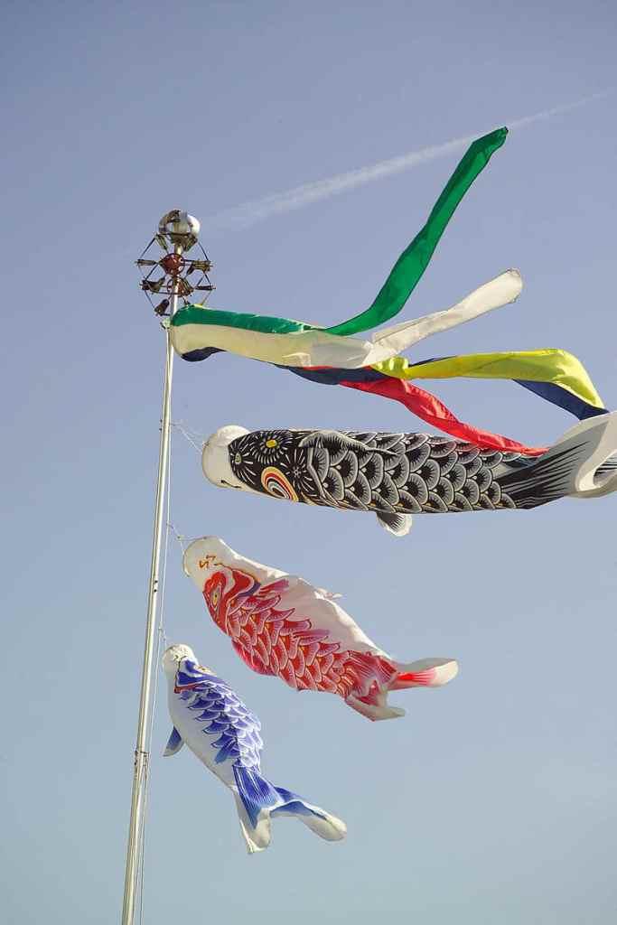 Koinobori Japanese Fish Kite- Kid World Citizen
