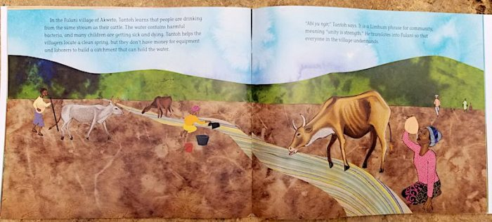 I am Farmer Biography Book from Cameroon- Kid World Citizen