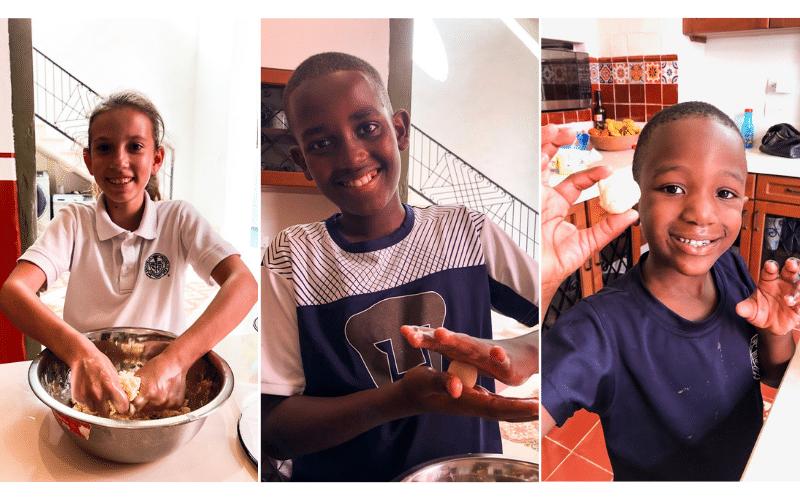 Making Gulab Jamuns Kids- Kid World Citizen