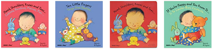 Books Spanish Toddlers Singing- Kid World Citizen