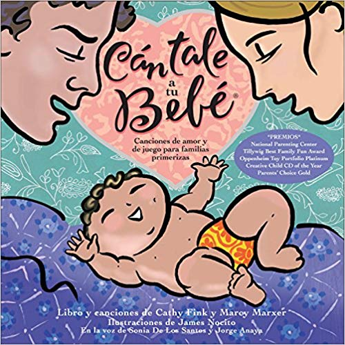 Cantale Bebe Spanish Toddlers Book- Kid World Citizen