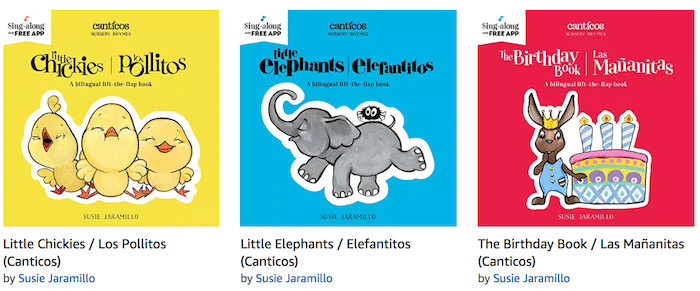 Canticos Spanish Books for Toddlers- Kid World Citizen