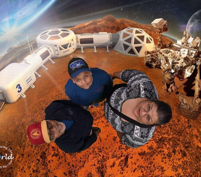 Family Space Camp- Kid World Citizen