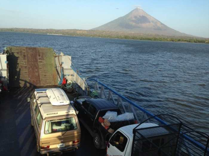 Ferry to Ometepe with Volcan Concepcion