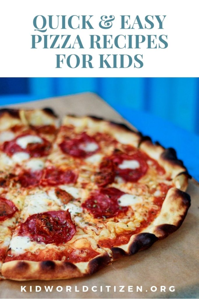 Best quick and easy pizza recipe to make with kids