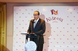 Mr. Xavier López during his speech at the Foundation Ceremony of KidZania Jeddah
