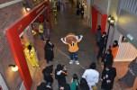 KidZania Jeddah - Beebop greeting guests