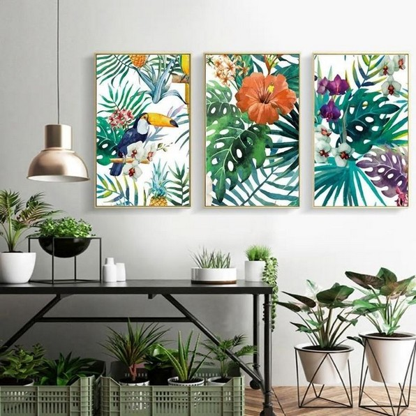 Tropical Decorating Creating A Tropical Canvas Paradise 34