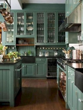 18 Green Kitchens That Will Make You Envious 18