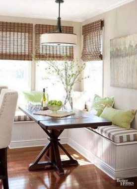 19 Kitchen Banquette Seating Ideas For Your Breakfast Nook 03