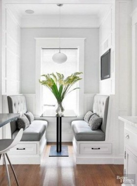 19 Kitchen Banquette Seating Ideas For Your Breakfast Nook 14
