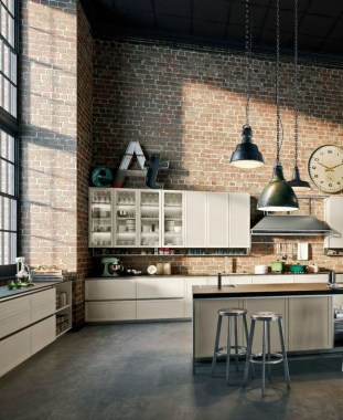 15 Kitchen Design For Lofts Urban Ideas From Snaidero 06