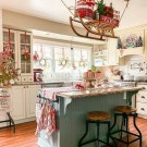 15 Ways To Decorate Your Kitchen For The Holidays 18