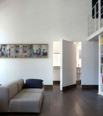 16 All White Ethereal House Is A Space Efficient Apartment In Rome 06