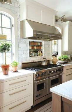 16 Kitchens With Unusual Stove Hoods 07