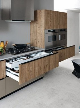16 Lacquered Melamine Kitchen From Cesar Arredamenti 09