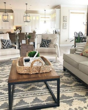 17 Chic And Modern Open Space Decorating Ideas 17