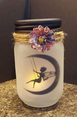 17 Cute DIY Mason Jar Decoration Ideas 26