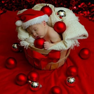 18 Pretty DIY Ornament For Baby Photo Shoot Decoration 04