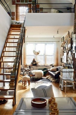 18 Tiny Eclectic Loft Is Big On Style 12