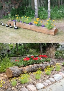 19 Adorable DIY Outdoor Planter Ideas 02