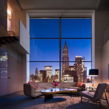 19 Amazingly Stylish Duplex Penthouses 25
