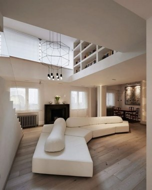 19 Amazingly Stylish Duplex Penthouses 26