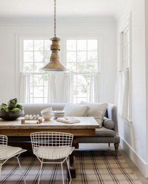 19 Breakfast Nook Designs For A Modern Kitchen And Cozy Dining 22