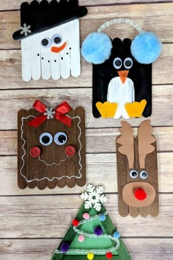 19 Cheap DIY Popsicle Stick Ornament For Christmas Decoration 16