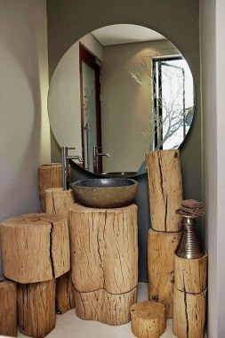 19 Functional DIY Ideas By Utilizing Your Old Log 11