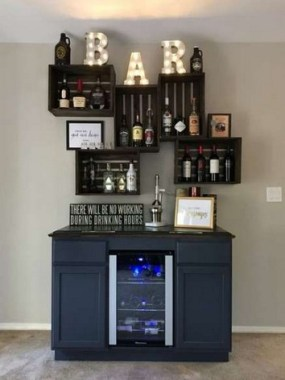 19 Home Bar Decorating Ideas That Are One Of A Kind 20
