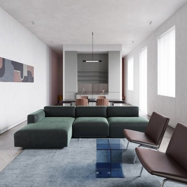 20 19th Century Apartment Gets Contemporized In Kiev 12